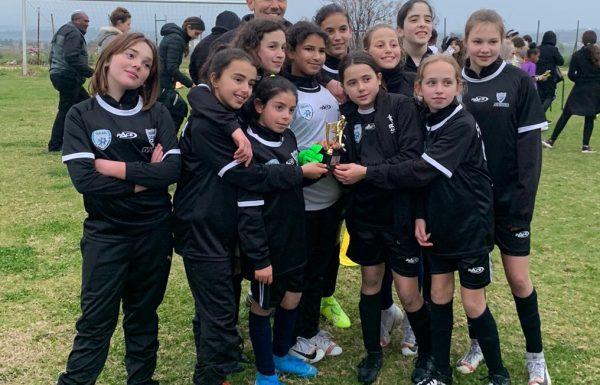 הישג מרשים לכדורגלניות הגליל העליון הצעירות