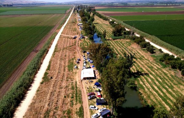 הישראלים חוזרים לנחלי הגליל העליון