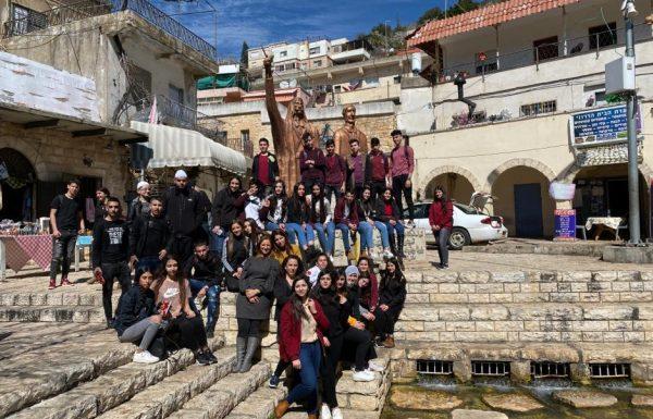 ברית חיים בין תלמידים יהודים לדרוזים