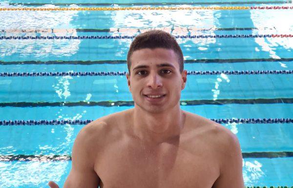 אביתר לוי מעמותת הספורט של הגליל העליון קבע את הקריטריון לאליפות אירופה לנוער בשחייה