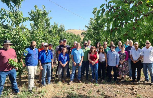 סיור מקצועי במטעי חקלאי רמת הגולן