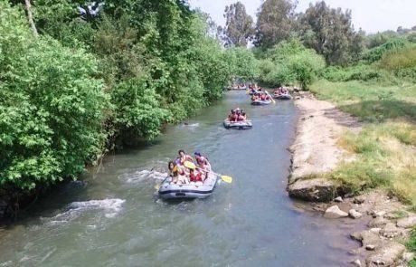 רפטינג נהר הירדן – שייט קיאקים וסירות נהר